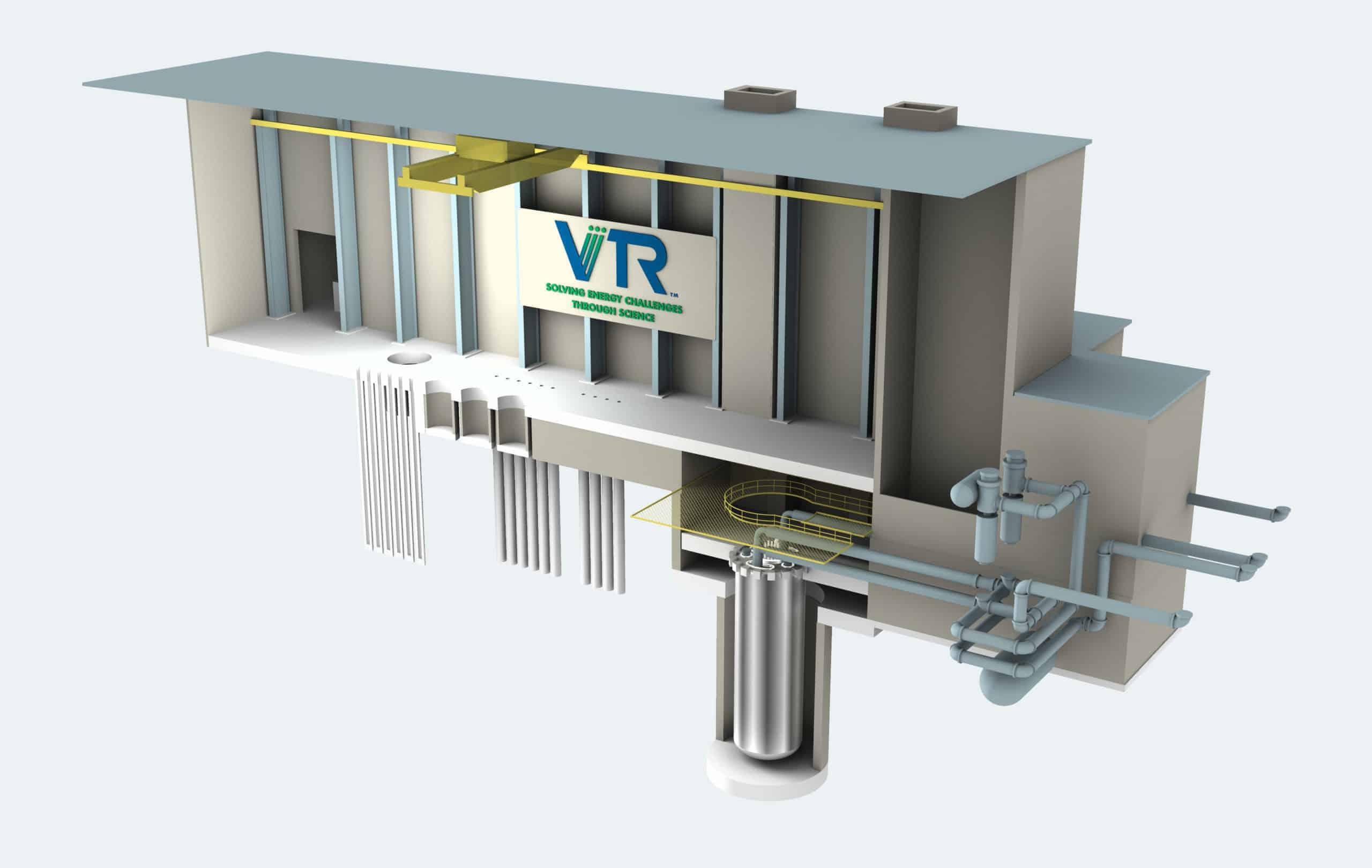 Versatile Test Reactor (VTR) facility rendering