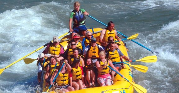 IEA whitewater float