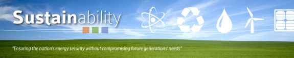 Sustainability Main Banner