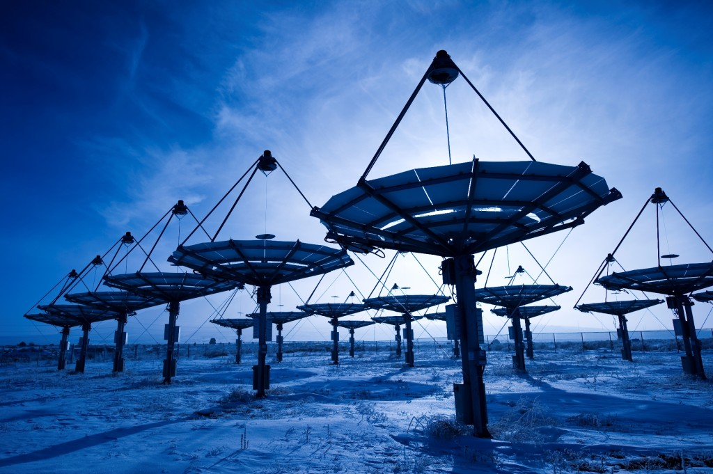 INL engineers helped plan and analyze a concentrated solar energy installation at Utah's Tooele Army Depot.